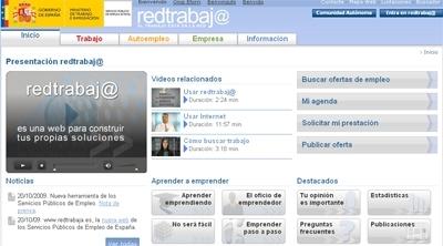 Red trabaja una nueva ayuda del ministerio de trabajo for Pagina web del ministerio